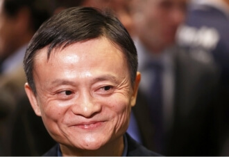 Founder Jack Ma and Alibaba