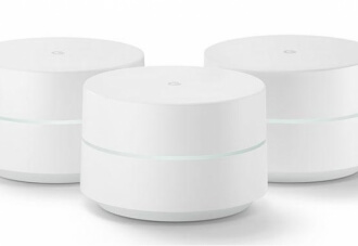 "An elegant and assertive product from Google; ""Google WiFi"""