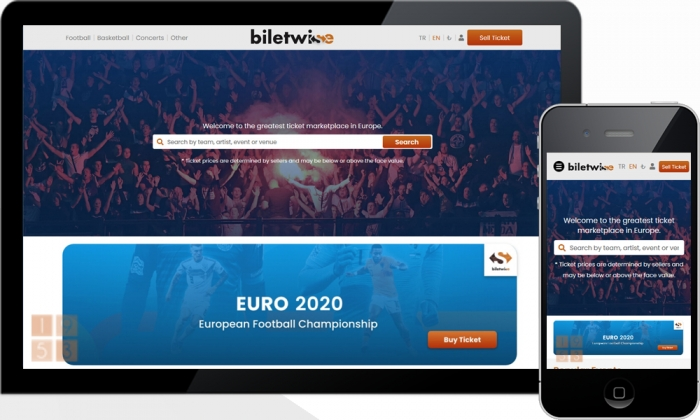 Biletwise Match and Concert Online Ticket Sales Site